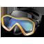 иконка snorkeling, diving mask, маска, маска ныряльщика, водолаз,