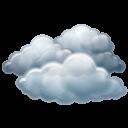 иконка overcast, облачность, погода,