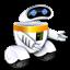 иконки робот, robot,