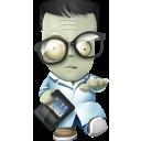 иконка geek, zombie, зомби,