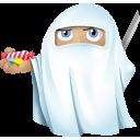 иконки ninja, ghost, приведение, призрак, halloween,