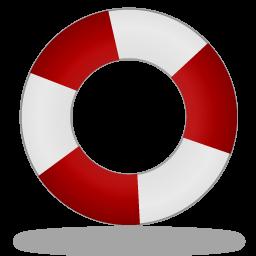 иконка help desk, спасательный круг, помощь,