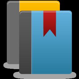 иконка library, библиотека, книга, книги, закладка, book,