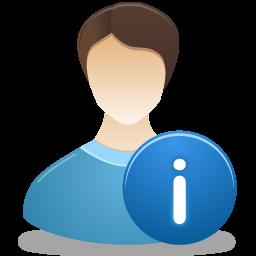 иконка personal information, персональная информация, инфо,