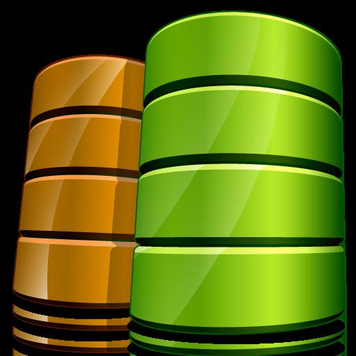 иконки database, база данных,