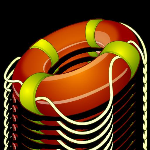 иконки float, спасательный круг, помощь,