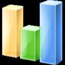 иконка bar chart, график, статистика,