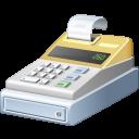 иконка cash, register, касса, кассовый аппарат,