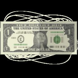 иконка banknote, банкнота, деньги, money, доллар,