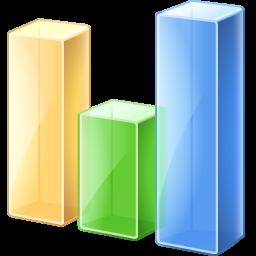 иконки bar chart, график, статистика,