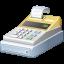 иконки cash, register, касса, кассовый аппарат,