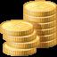 иконка coins, монеты, деньги, money, поинты,