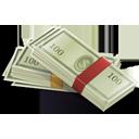 иконки dollars, money, деньги, доллары,