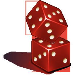 иконки dice, игральная кость, игральные кубики,