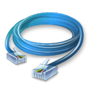 иконки  ethernet cable, interntet, интернет, кабель, провод,
