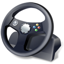 иконки gaming wheel, руль,