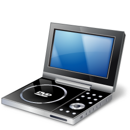 иконка portable dvd player, портативный dvd плеер,