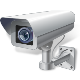 иконка security camera, камера, камера слежения,