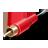 иконки RCA connector, plug, штекер, провод,