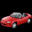 иконки cabriolet, кабриолет, машина, автомобиль, транспорт,