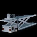 иконки container loader, погрузчик, погрузчик контейнеров,