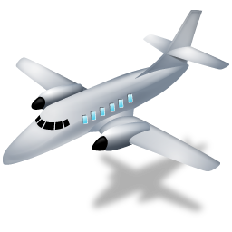 иконки airplane, самолет,