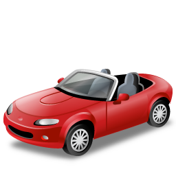 иконка cabriolet, кабриолет, машина, автомобиль, транспорт,