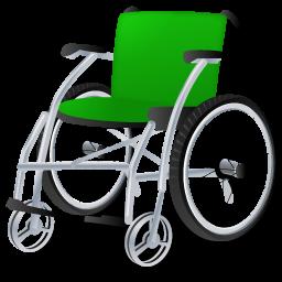 иконка wheelchair, инвалидное кресло,