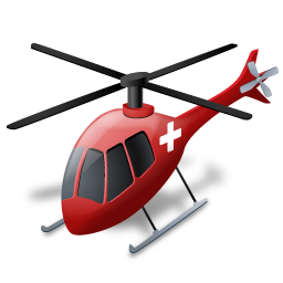 иконки air ambulance, вертолет,