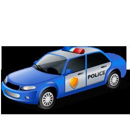 иконка police car, полиция, полицейский автомобиль, машина,