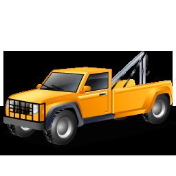 иконка tow truck, эвакуатор, машина, автомобиль,