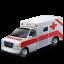 иконка ambulance, скорая помощь, машина, автомобиль,
