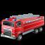 иконка fire truck, пожарная машина, автомобиль,