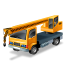иконки truck mounted crane, кран, кран манипулятор, машина, автомобиль,