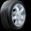 иконка wheel, колесо, шина,