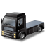 иконка tractor unit, тягач, машина,