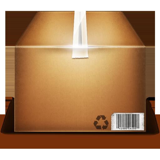 иконки box, коробка,