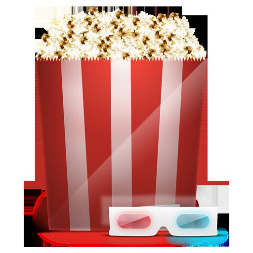 иконки cinema, попкорн, кино,