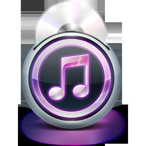 иконки  itunes, музыка, диск,