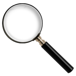 иконка icon, magnify, glass,