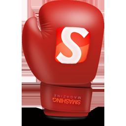 иконка smashing, боксерская перчатка, бокс,