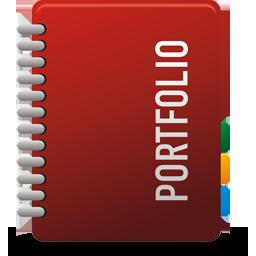 иконки portfolio, портфолио,