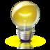 иконки лампочка, bulb,