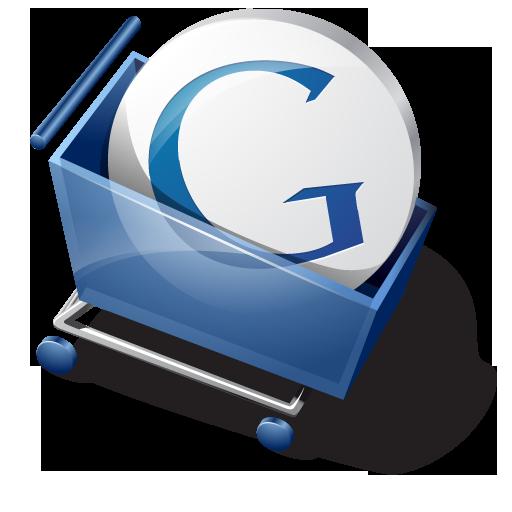 иконка google, ckeckout, гугл, покупки, тележка,