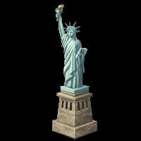 иконка liberty, статуя свободы, достопримечательность,