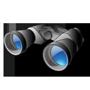 иконка binoculars, бинокль,