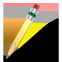 иконка pencil, карандаш,