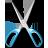 иконка scissors, ножницы,
