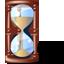 иконка hourglass, песочные часы,