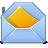 иконка letter, письмо, почта, конверт,